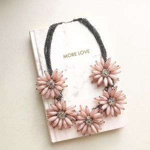 Anthropologie Pale blush Necklace